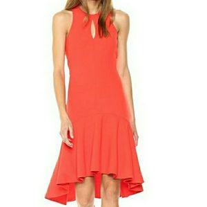 Trina Turk High-Low Petal Dress